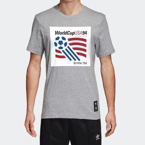 🛑SOLD🛑ADIDAS ⚽️ World Cup USA 94 Logo Tee CD6960